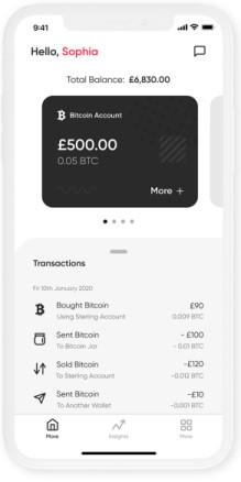 mode crypto app screenshot